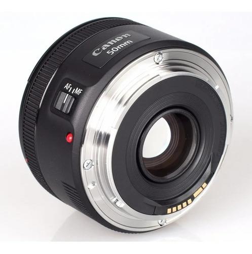 lente canon 50mm 1.8 stm original 1 ano de garantia + nf