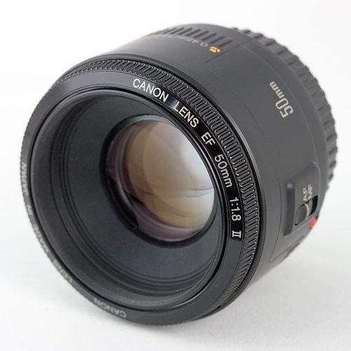 lente canon 50mm