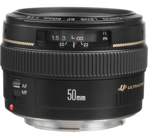lente canon 50mm f/1.4 ef usm ( excelente p/ retratos )