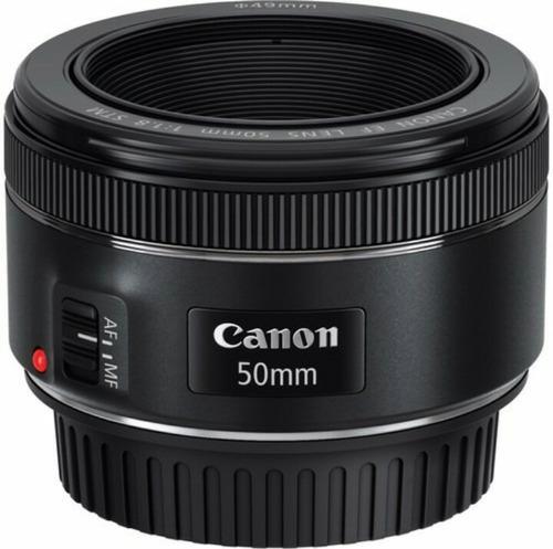 lente canon 50mm f/1.8 stm nuevo