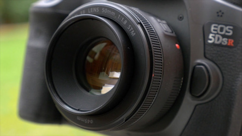 lente canon 50mm f/1.8 stm original garantia canon 1 ano nfe