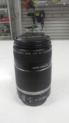 lente canon 55-250, buen estado!!!