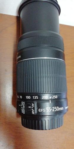 lente canon 55-250 excelente estado. damos garantía un año,