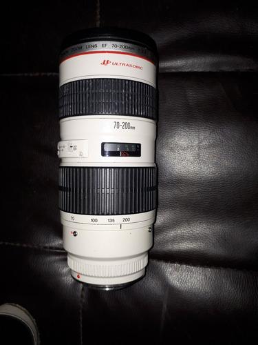 lente canon 70/200 f 2.8 usm no estabilizado