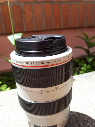 lente canon 70/300 l 4-5.6 is usm