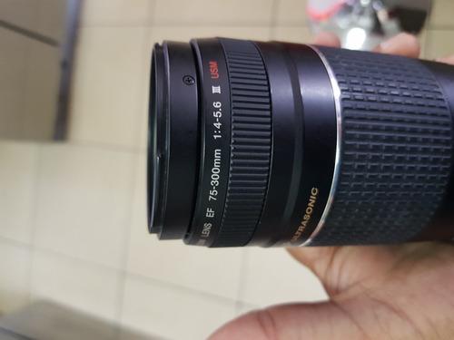 lente canon 75-300mm 1:4-5.6 serie 3 usm