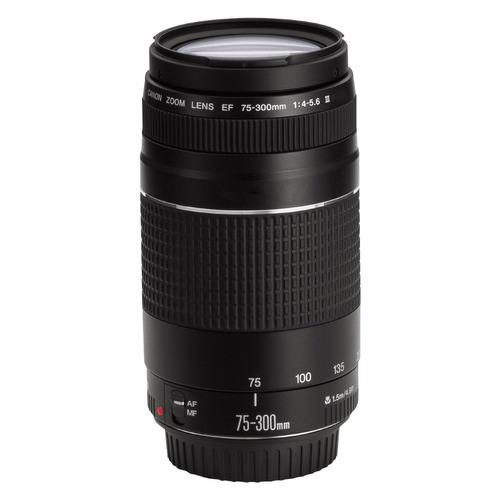 lente canon 75-300mm f/4-5.6 nueva serie