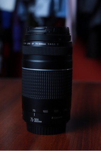lente canon 75-300mm original