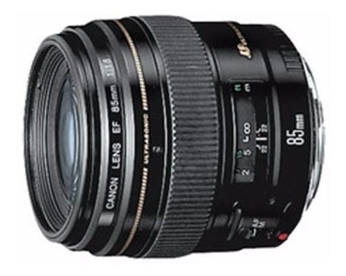 lente canon 85mm 1.8 f/1.8 usm ef garanti brasil 12x s/juros