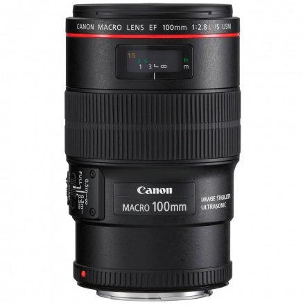 lente canon ef 100mm f/2.8l macro is usm 100% original+brind