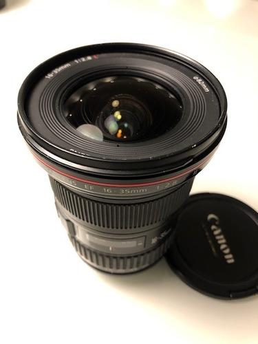 lente canon ef 16-35mm 2.8 l ii - em ótimo estado