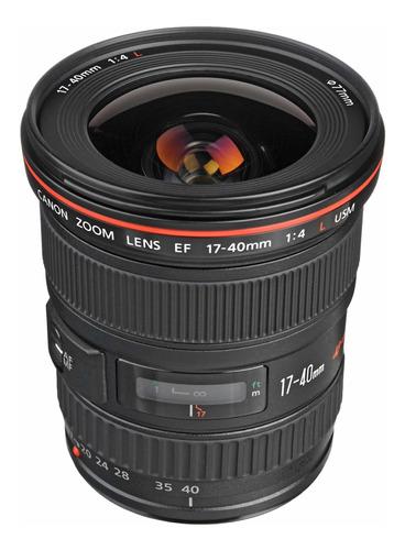 lente canon ef 17-40mm f4 l usm nova na caixa com nf