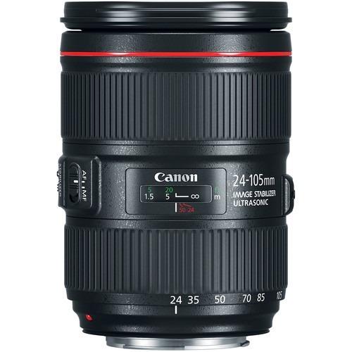 lente canon ef 24-105mm f/4l is ii usm brasil 12x s/juros