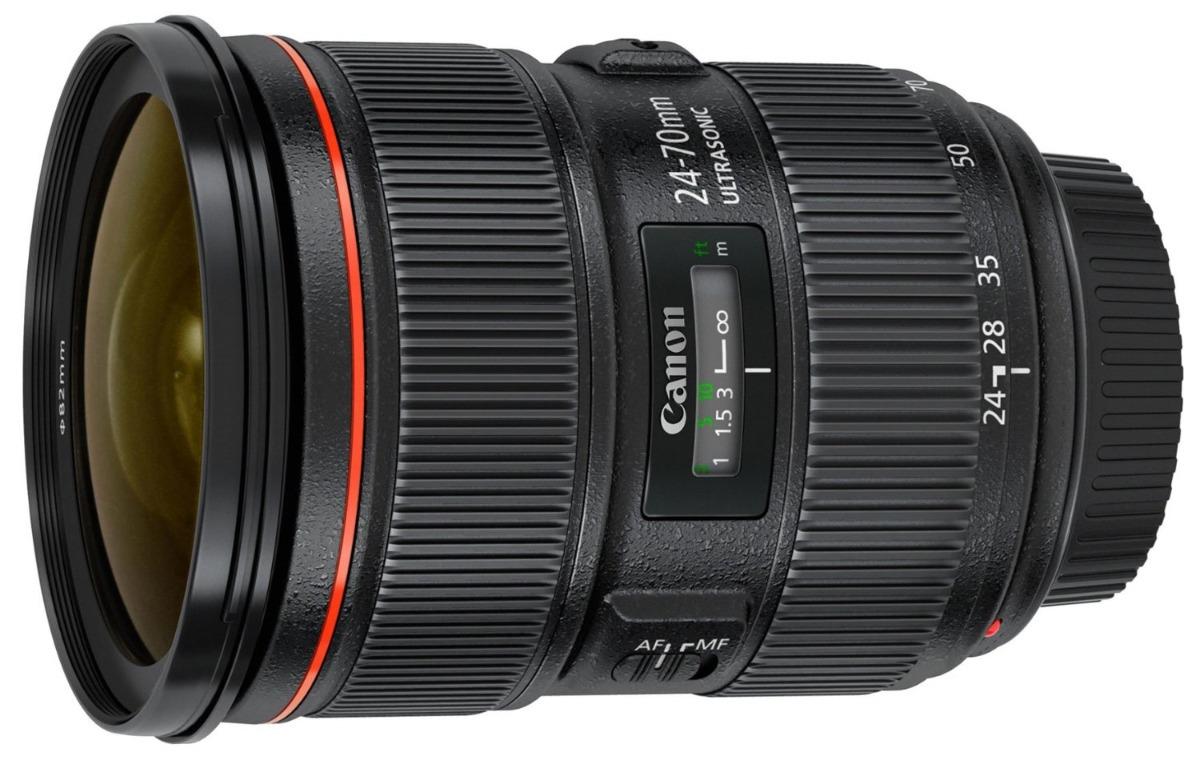 Lente Canon Ef 24-70mm F/2.8 L Il Usm 24 70 Mm - $ 53.900,00 en ...