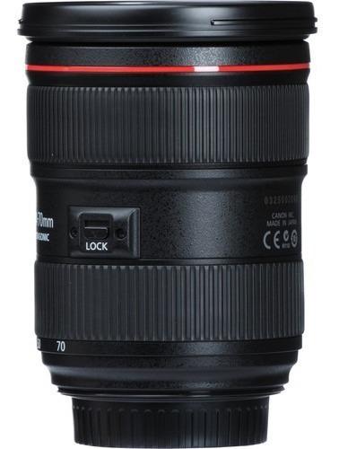lente canon ef 24-70mm f/2.8l ii usm garantia canon brasil