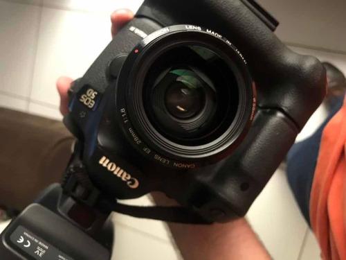 lente canon ef 28mm 1.8 usm - não é 35mm, 24mm, 85mm
