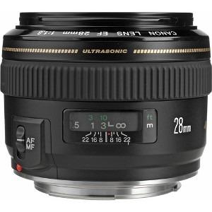 lente canon ef 28mm f/1.8 usm nuevo. gtia.