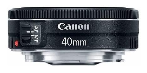 lente canon ef 40mm f/2.8 stm f2.8 pancake garantia brasil