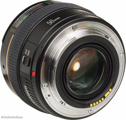 lente canon ef 50mm f/ 1.4 usm garantia oficial canon