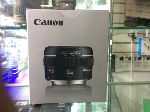 lente canon ef 50mm  f/1.4 usm nuevo