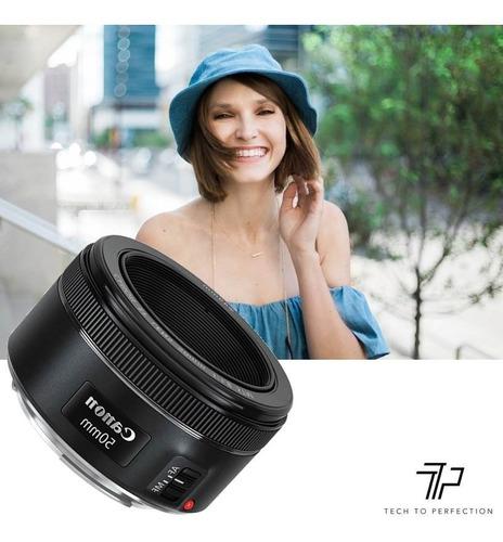 lente canon ef 50mm f/1.8 fijo stm nuevo modelo garantía !!!