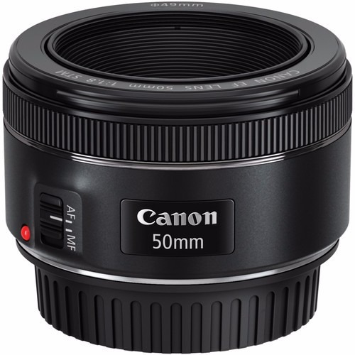 lente canon ef 50mm f/1.8 stm + filtro uv | garantía |