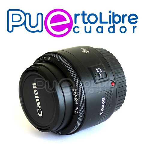 lente canon ef 50mm f/1.8 stm + g r a t i s memoria 32 gb
