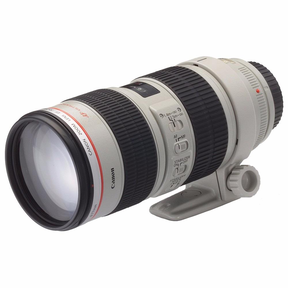 lente canon ef 70 200mm f is ii usm telefoto zoom r em mercado livre. Black Bedroom Furniture Sets. Home Design Ideas
