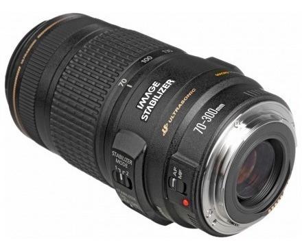 lente canon ef 70-300mm f/4-5.6 isusm 100% original + brinde