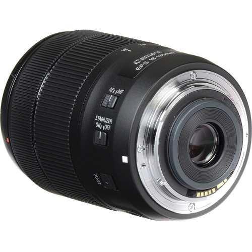 lente canon ef-s 18-135mm f/3.5-5.6 is nano usm telephoto
