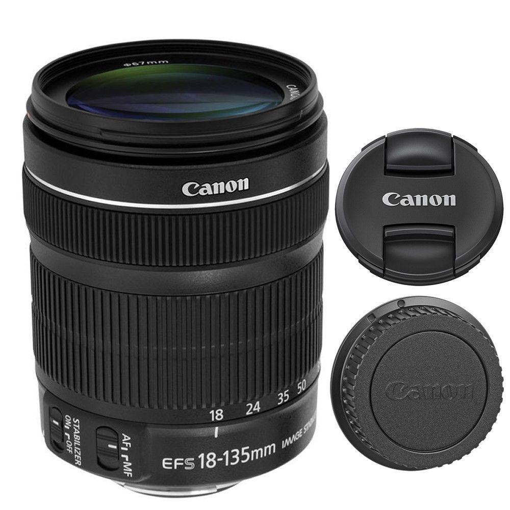 Lente Canon Ef-s 18-135mm F/3.5-5.6 Is Stm Zoom T5i T4i 60d ...