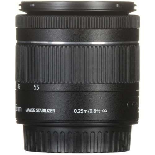 lente canon ef-s 18-55mm f/3.5-5.6 is stm aps-c af standard