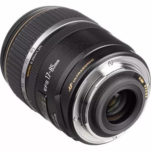 lente canon efs 17-85mm f/4-5.6 is usm nuevo