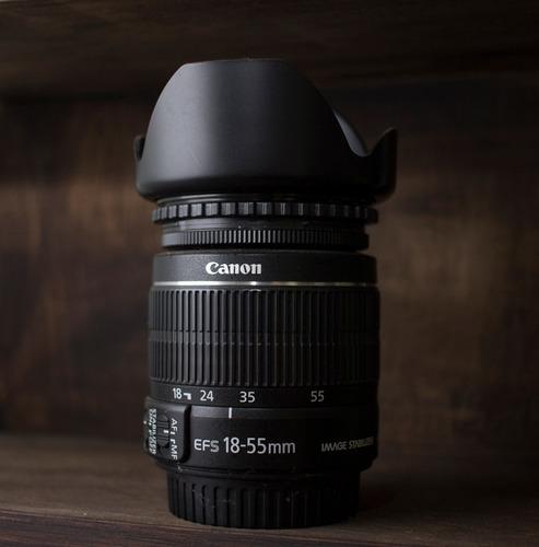 lente canon efs 18-55 f 3.5/5.6