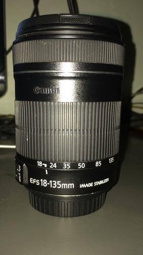 lente canon efs 18/135 1:3.5-5.6 is 67mm
