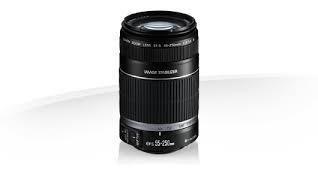 lente canon efs 55-250mm f/4-5.6 is ii
