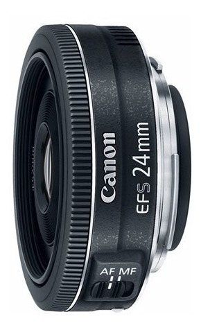 lente canon grande angular ef-s 24mm 2.8 stm garantia brasil
