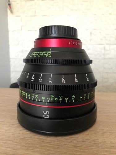 lente canon prime cn-e 50mm 1.3