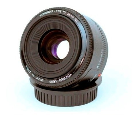 lente canon yongnuo 35mm f/2.0 t3 t4 t5i t5 t6 t6i 80d 7d 6d