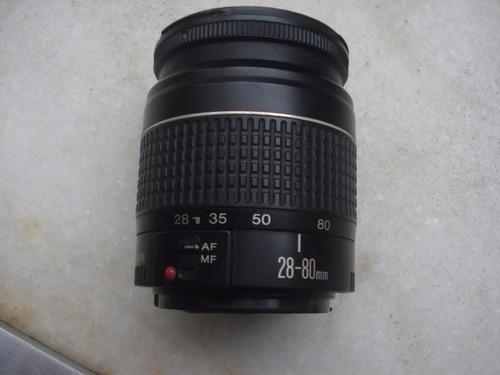 lente canon zoom lens ef 28-80mm 1:3.5-5.6 ii
