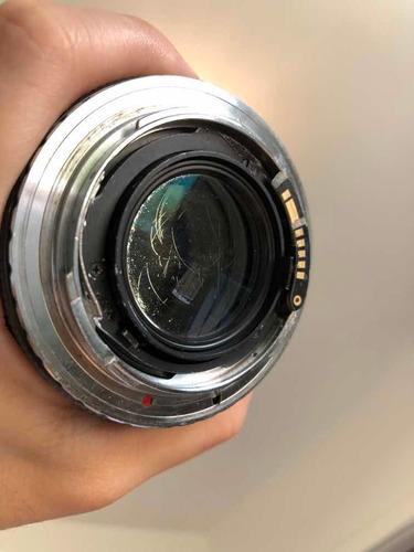 lente carl zeiss 85mm 1.4 para canon