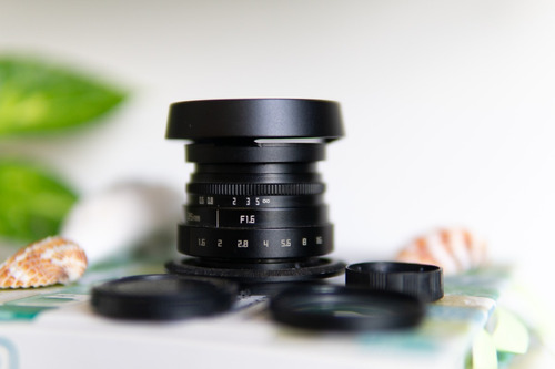 lente cctv 35mm 1.6 para sony e-mount