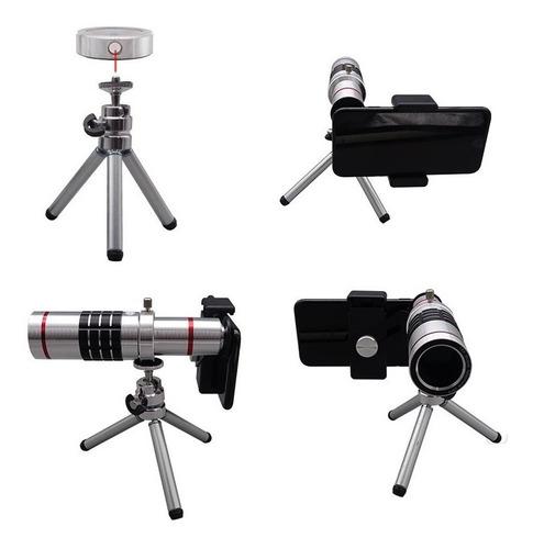 lente celular zoom 18x universal camera telescópica