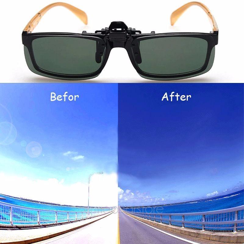 Lente Clip-on Para Óculos De Grau Verde - R  25,00 em Mercado Livre 2e80ed8488