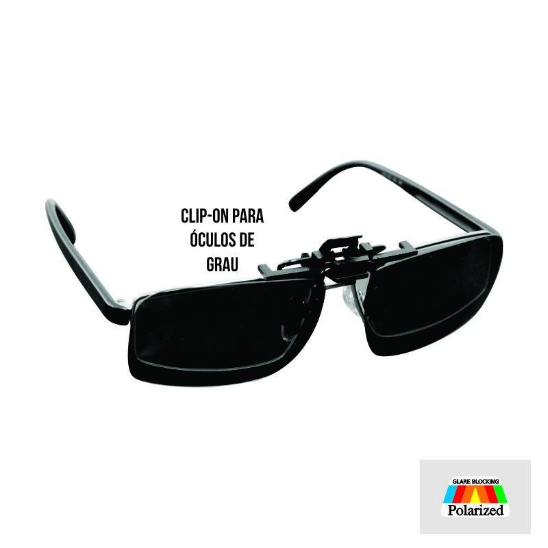 Lente Clip On Sobrepor Óculos De Grau - (preto) - R  25,00 em ... d6bdf99b16