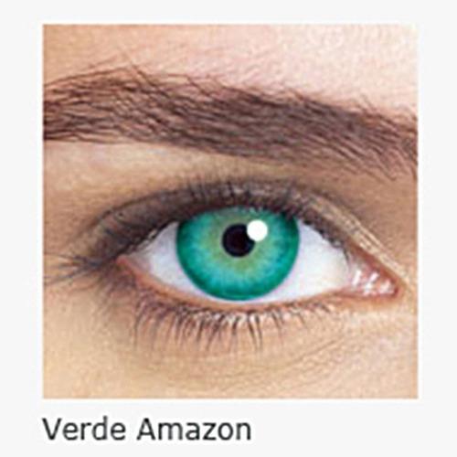 lente colorida starcolors com grau caixa com 01 lente mensal