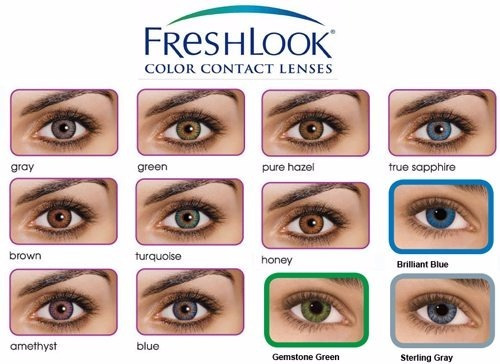 ac29f44ec8c19 Lente De Contato Colorida Freshlook + Brinde - R  39,90 em Mercado Livre