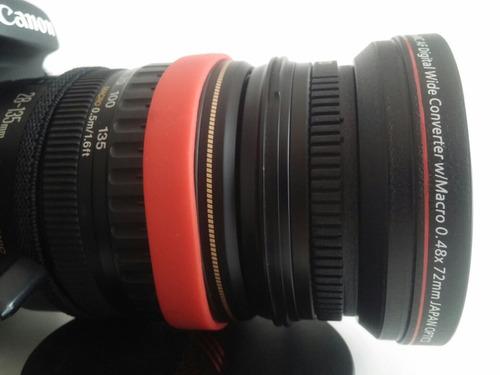 lente conversor gran angular / macro 72mm canon/nikon/otros