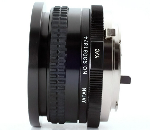 lente cosina mc 20mm f 3.8 macro -encaixe cy-canon-sony-fuji