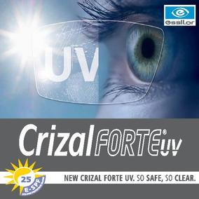 b52f10bad Lentes Com Crizal - Óculos no Mercado Livre Brasil